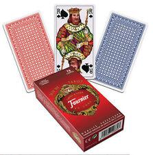 Jeu de cartes plastifiées tarot (78) Fournier Deluxe