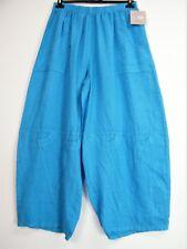 Lagenlook 100% Lin Italian Pantalon 8 Cols 3 Tailles: Grande: 1 Grande : 2