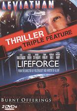 Leviathan/Burnt Offerings/Lifeforce (DVD, 2010, 2-Disc Set) BRAND NEW/SEALED