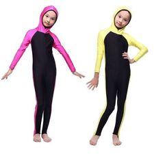 Girls-Full-Cover-Costumes-Modest-Swimwear-Beachwear-Swimming