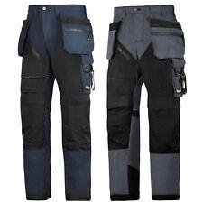 Snickers Workwear Pantalones con Holster Bolsillos ruffwork Azul Marino & Gris Acero 6202