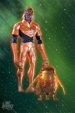 DC: Green Lantern: Blackest Night: LARFLEEZE WITH GLOMULUS figure - RARE