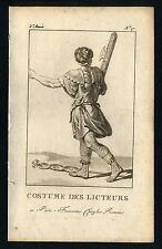 KOSTÜM THEATRE 1786 Liktor der Rom antik