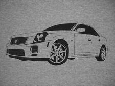 Cadillac CTS-V t-shirt , Silver 2004 2005 2006 2007 LS6