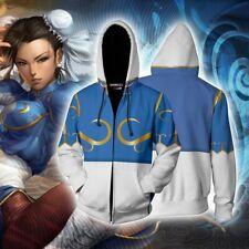Game Street Fighter V Hoodie Sweatshirts Cosplay Costumes 3D Adult Hooded Coat