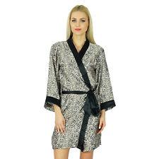 Bimba femmes de demoiselle d'honneur Robes en satin noir Robe courte