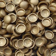 50 x grandi, in rame colorato, due pezzi a cupola TAPPO A VITE copre SNAP berretti pro-dec