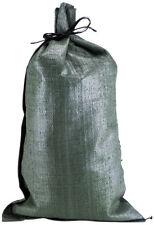 Sandbags Large Green Polypropylene Sand Bag Reinforce Barrier Flood Control
