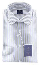 New $600 Luigi Borrelli Brown Shirt - Extra Slim - (EV06RC130270)