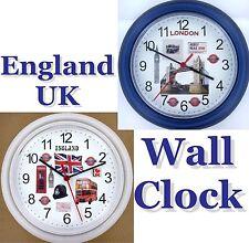 ENGLAND Wall Clock UK Great Britain London United Kingdom Manchester Midlands