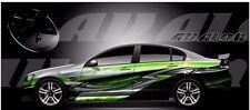 Avalon go kart race car vinyl graphic decal half wrap