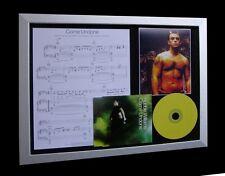 ROBBIE WILLIAMS Undone LTD Nod CD MUSIC FRAMED DISPLAY!