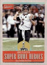 2017 Classics Super Bowl Heroes Baltimore Ravens Football Card #5 Joe Flacco