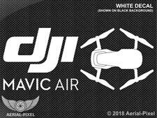 DJI Mavic Air Window / Case Decal Sticker FPV Quadcopter Drone Phantom