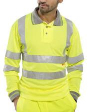 warnschutz Chemise à manches longues polo jaune S-5XL warnshirt Pull sweat