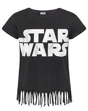 Star Wars Logo Girl's Fringe Top