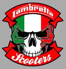 LAMBRETTA Skull Sticker