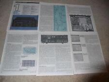 McIntosh MR-80 Tuner Review, 6 pg, 1981, Full Test