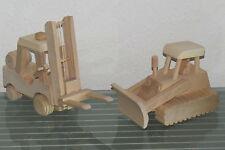 Gabelstapler Raupe Planierraupe Stapler Kettenraupe Baumaschine Holz