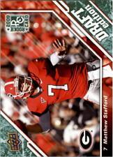 2009 Upper Deck Draft Edition Dark Green Football Card Pick