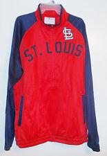 MLB St.Louis Cardinals Mens Track Jacket  NWT