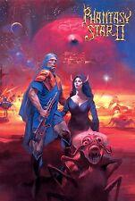 Phantasy Star 2 Poster  4 Sizes  RPG Sega Genesis Megadrive Master System PS2
