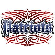 Patriots tattoo style T-shirt S M L XL 2X 3X men women