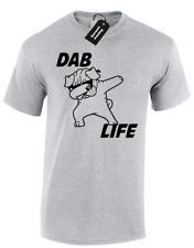 DABBING PUG MENS T-SHIRT DAB LIFE FUNNY MEME FASHION DANCE CUTE DESIGN