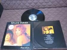 Mylene Farmer Ainsi Soit Je... French Original Vinyl LP