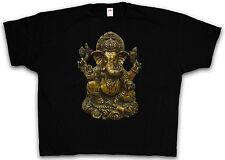 XXXXL VINTAGE GANESHA T-SHIRT - Shiva Buddha India Govinda Shirt 4XL 5XL XXXXXL