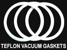 3EA. DRY CLEANING HOFFMAN AJAX PRESS VACUUM FLANGE PTFE GASKET