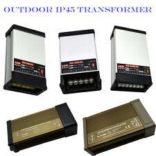 12VDC LED Light Power Supply Transformer Rainproof for LED AC 240V Outdoor Light