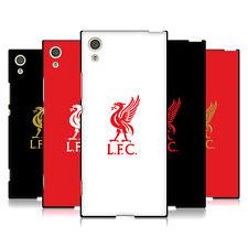 Oficial Liverpool Football Club hígado Pájaro Negro Gel Suave Estuche Para Sony Teléfonos
