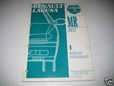 Werkstatthandbuch Renault Laguna Motor B56, 1993