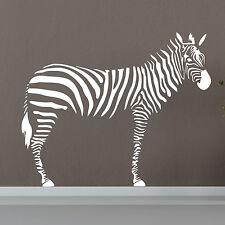 Zebra Art Vinyl Windows Wall Stickers / Wall Decal