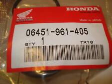 NOS HONDA PARTS CBR600 CBR900 250EX 300EX 400EX SEALS