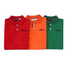 NEW Kids Boys Polo Shirt 100% Cotton Child T shirt Summer Top Short Sleeve Polo