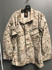 USMC Digital Desert Camouflage Jacket Blouse DAMAGED- Hunting, Paintball
