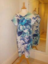 Pomodoro Sunset Turquoise Dress 21806