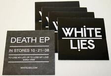 White Lies Death Ep - Black & White - 10 Pack Stickers