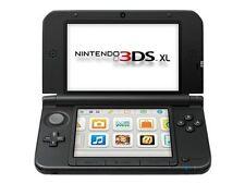 Nintendo 3DS XL Blue & Black Handheld System w/Charger, SD card, & Stylus Bundle