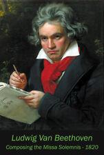 Ludwig Van Beethoven Portrait 1820 poster print