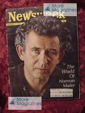 NEWSWEEK magazine December 9 1968 Dec 12/9/68 NORMAN MAILER +++