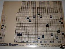 Microfilm FIAT TEMPRA 1370-1580 V. 11/1995