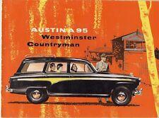 Austin A95 Westminster Countryman 1956-59 UK Market Sales Brochure