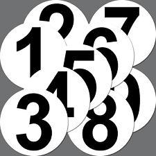 4 Aufkleber 10cm Sticker Startnummer Racing Nummer Nr Auto Motorrad Kart Sport