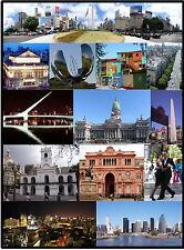 Buenos Aires - Argentinien - Jumbo Kühlschrank Magnet - NEU