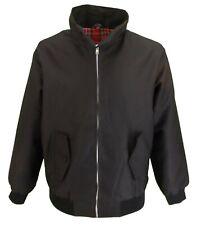 Ladies Classic Black Harrington Jackets