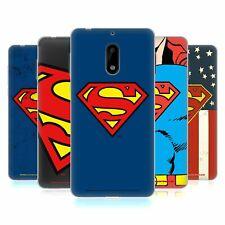 OFFICIAL SUPERMAN DC COMICS LOGOS SOFT GEL CASE FOR NOKIA PHONES 1