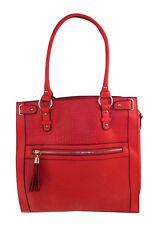 GRANDE New Look 2 con manici borsa esterno zip tasca e impugnatura 2 colori